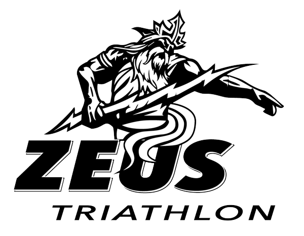 Logo officiel de ZEUS Triathlon