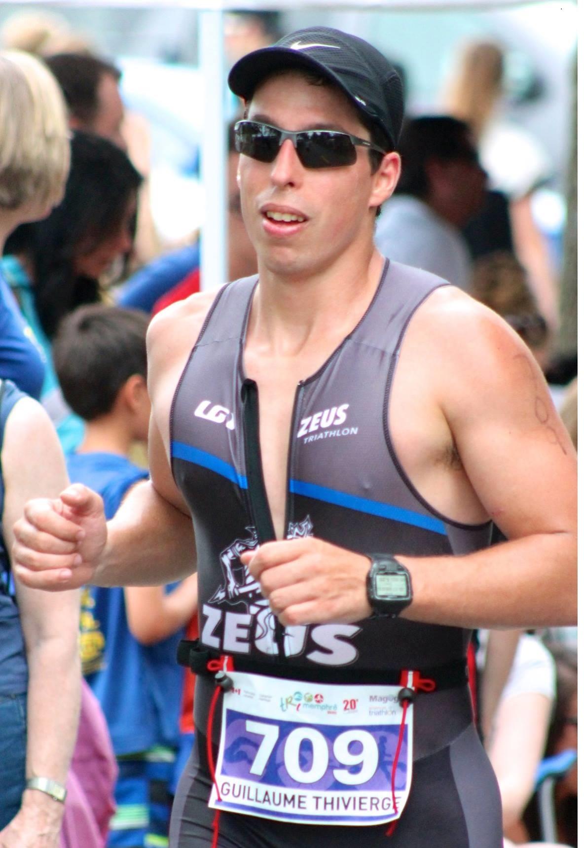 Guillaume Thivierge,  coach pour ZEUS Triathlon à Montréal, Laval & Rive-Nord